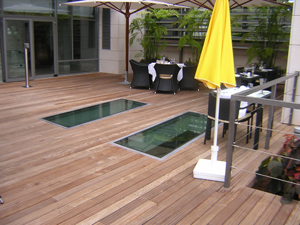 Pavimento de exterior dosparquets - Pavimento madera exterior ...